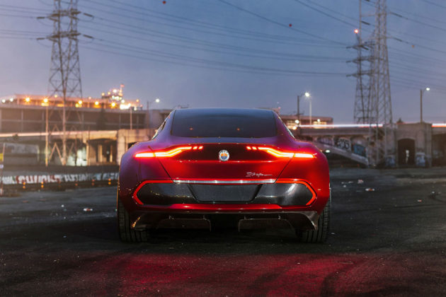 Fisker EMotion Electric Luxury Sedan Debuts at CES