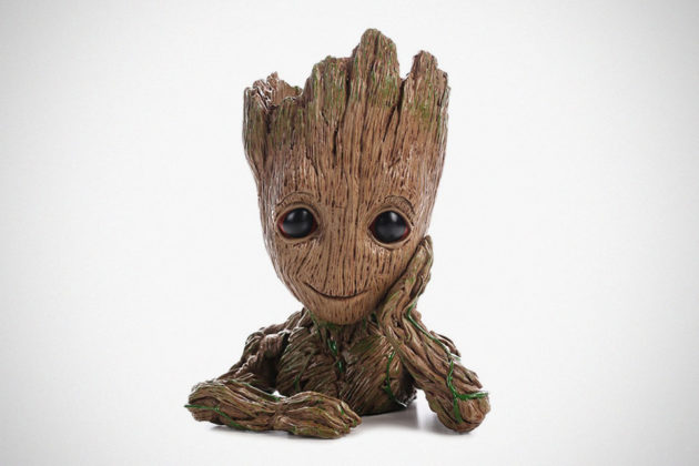 HEYFAIR Baby Groot Planter/Multifunction Desk Organizer