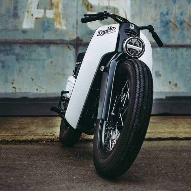Honda x K-Speed Super Power Cub Custom Motorcycle