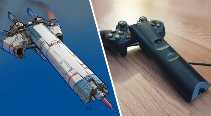 These Amazing Illustration Of Spaceships Are Actually Inspired By Everyday Household Objects