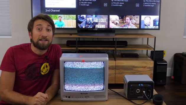 How a TV Works in Slow Motion by The Slow Mo Guys