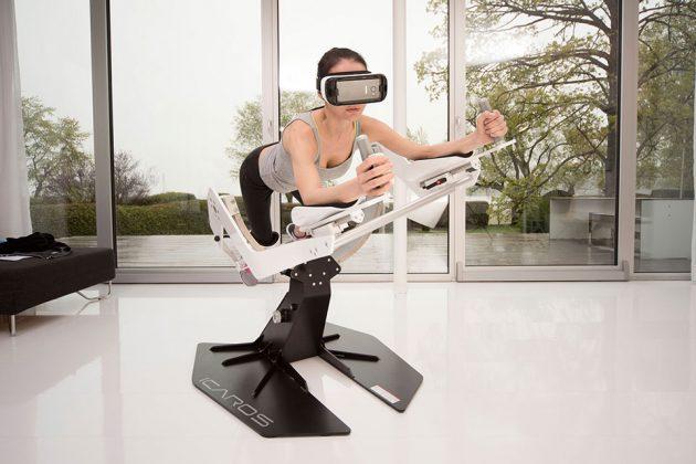 ICAROS Home Active Virtual Reality Machine