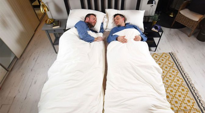 Ikea UK Is Selling Duvets That Will Put An End To Nightly Bedroom Duvet War