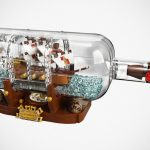 Jake Sadovich's LEGO Ideas Ship in A Bottle Becomes An Official Set