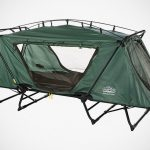 Tent Cot Is A Tent And A Chair So You Can Sleep Elevated And Have One Less Thing To Bring For Camping