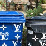 Oh, Look. Kim Kardashian Actually Have A Couple Of Louis Vuitton Trash Cans