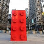 LEGO Marked 60 Years with 10-foot Tall LEGO Brick Made Up Of 133,000 Bricks