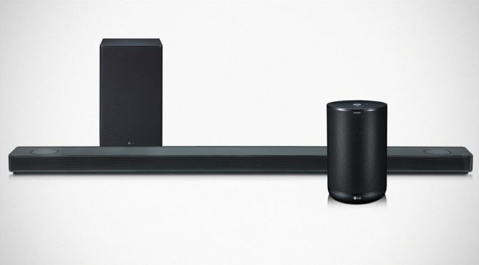 LG Teamed Up With Meridian Audio, Unveiled Premium Sound Speakers