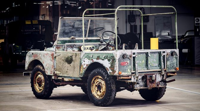 Land Rover to Restore Original 4x4 Found Rusting Away