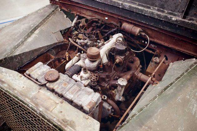 Land Rover to Restore Original 4x4 Found Rusting Away