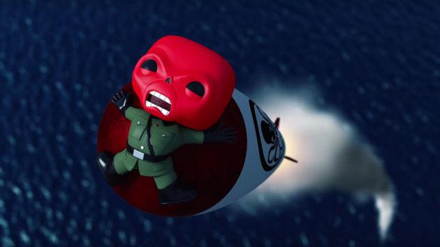 Marvel x Funko Captain America vs Red Skull Animation
