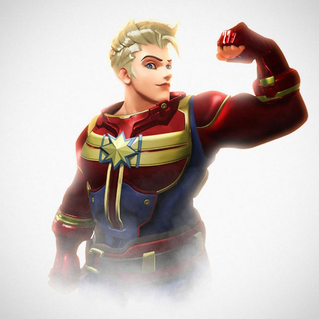 Marvel x Overwatch Mashup Character Art by Kode LGX