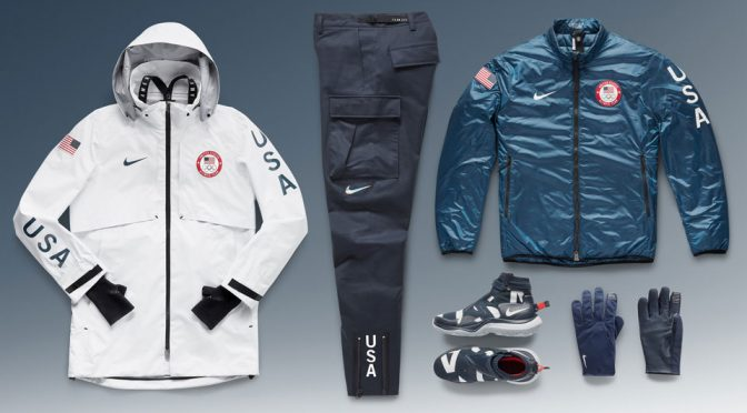 Nike Team USA Medal Stand Collection for 2018 Winter Olympics
