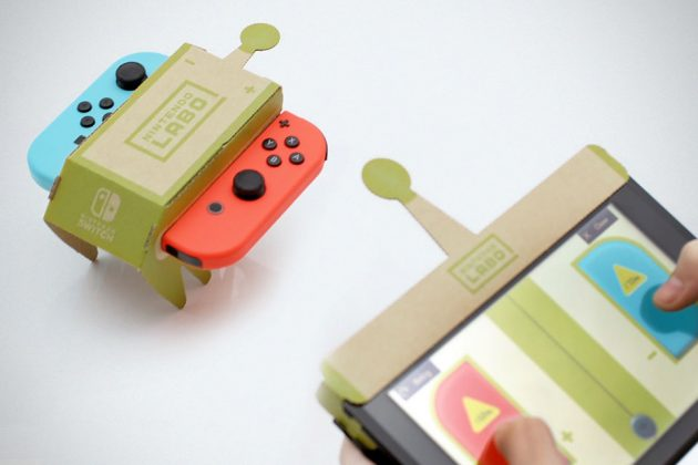 Nintendo Switch Labo Toy Cons Cardboard Accessories