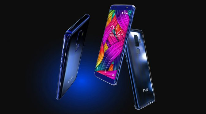 Nuu Mobile G3 and X5 Smartphone at CES 2018