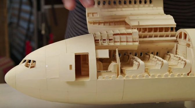 The Details That Went Into This Paper Airplane Will Absolutely Blow Your Mind!
