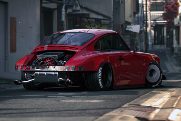 Porsche Raw 964 Concept by Khyzyl Saleem