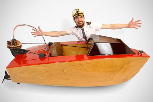 Rapid Whale Mini Boat Kit by Joshua Tulberg
