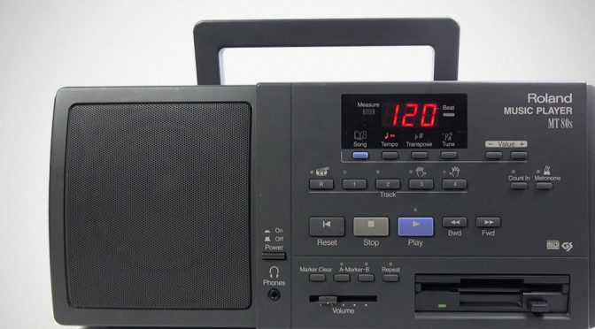 "Do You Know Roland Had A BoomBox That Plays MIDI Music From 3.5"" Floppy?"
