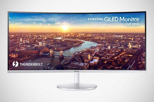 Samsung 34-inch Thunderbolt 3 QLED Curved Monitor