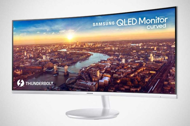 Samsung 34-inch Thunderbolt 3 QLED Curved Monitor