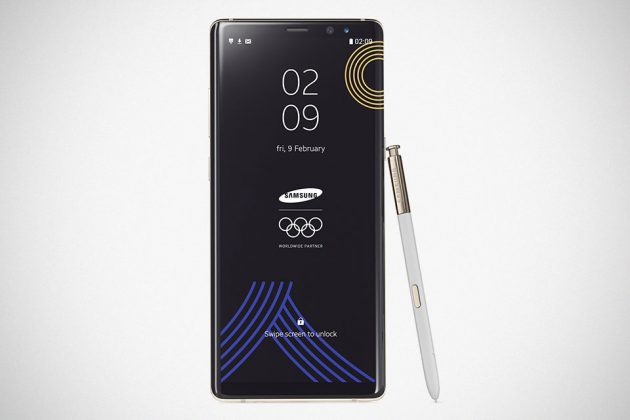Samsung PyeongChang 2018 Olympic Games Limited Edition Galaxy Note8