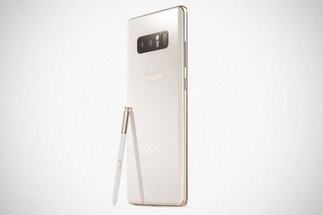 Samsung PyeongChang 2018 Olympic Games Limited Edition Galaxy Note8
