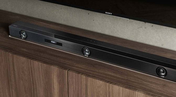 Sony Unveiled World's First Dolby Atmos Soundbar Along With A Super Compact Soundbar