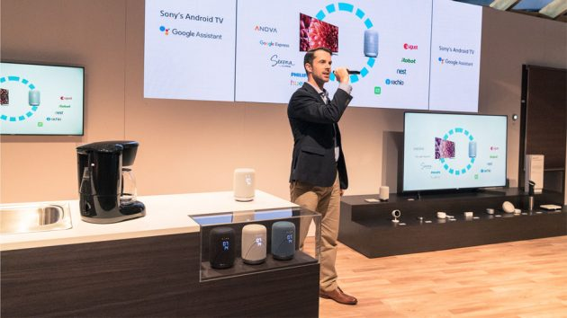 Sony Connected Home at CES 2018
