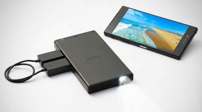 Sony's New Mobile Projector Is Sleek, But At $400, It Could Be A Tad Too Pricey
