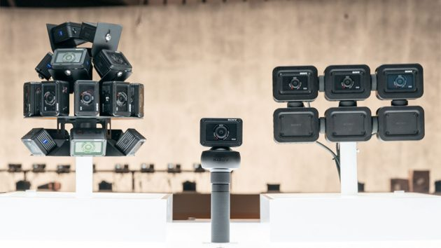 Sony RX0 Multi-camera Setup with Camera Control Box at CES 2018