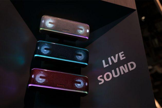 Sony SRS-XB41 Wireless Speaker at CES 2018