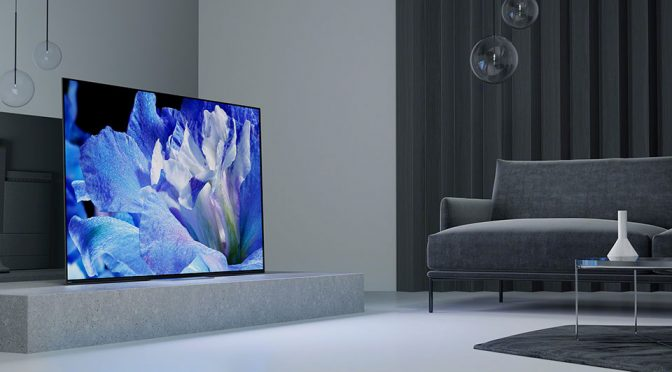 Sony A8F 4K HDR TV Is Loaded With Tech, Uses Its Screen To Produce Audio
