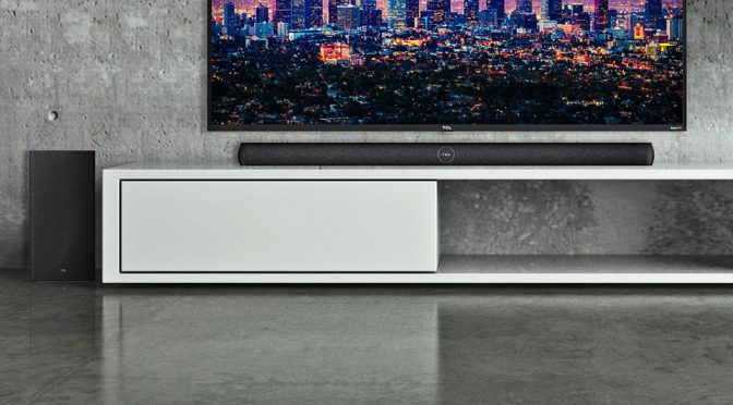 TCL Unveiled A New Category Of Sound Bar Called TCL Roku Smart Soundbar