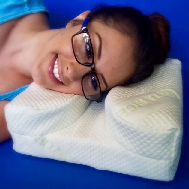 TheLaySeePillow Pillows For Those Who Wear Glasses