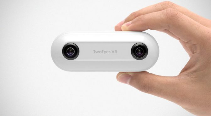 TwoEyes VR Camera Replicates What Humans See With Two Pairs Of Lenses