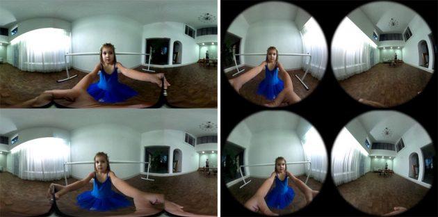 TwoEyes Binocular 360-degree FoV VR Camera