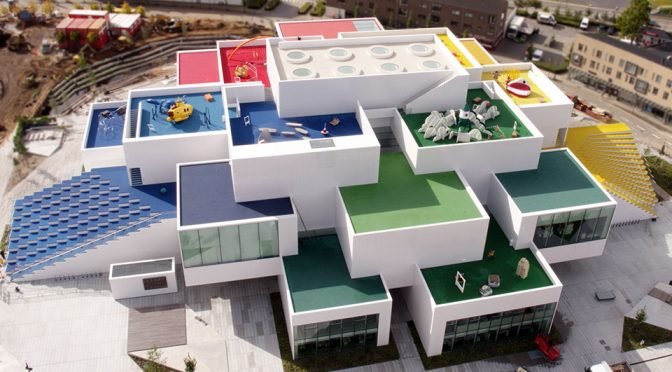 12,000 Sqm LEGO House in Billund Denmark Has 25 Million LEGO Bricks