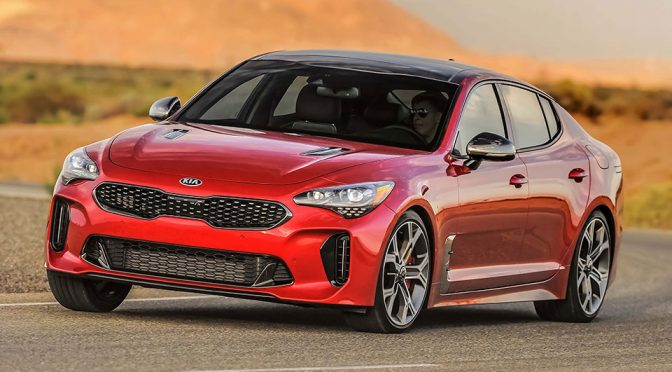 2018 KIA Stinger Sports Sedan and KIA Rio GT-Line