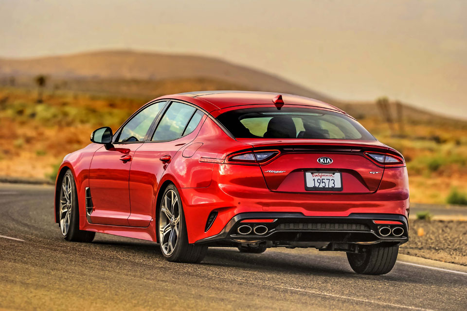 About Kia Muscle Car Stinger And Upcoming Kia Rio Gt Line