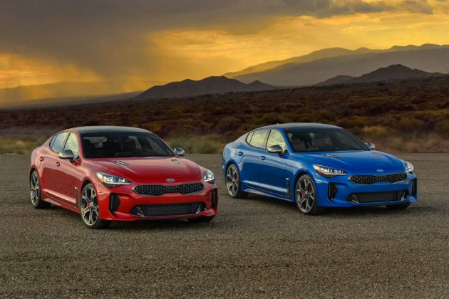 2018 KIA Stinger Sports Sedan