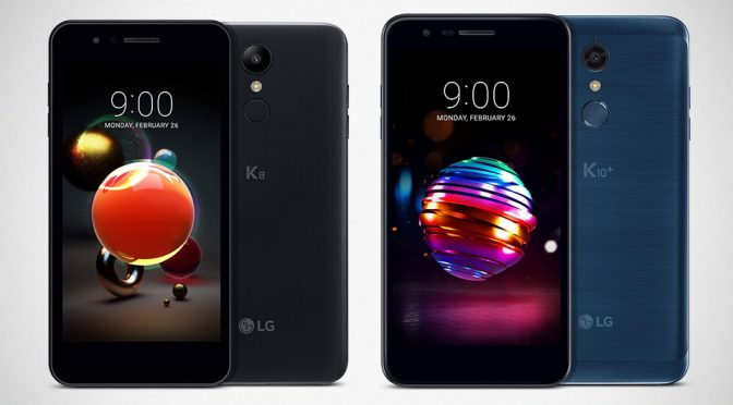 2018 LG K8 and K10 Series Smartphone to Debut in Barcelona