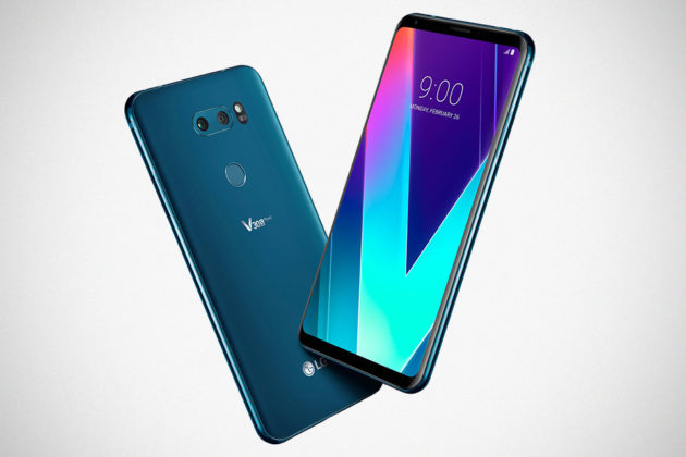 2018 LG V30S ThinQ Smartphone with AI Unveiled at Barcelona