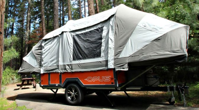 Tent-style Camping Trailer Is A Dream Come True For Small SUV Owners