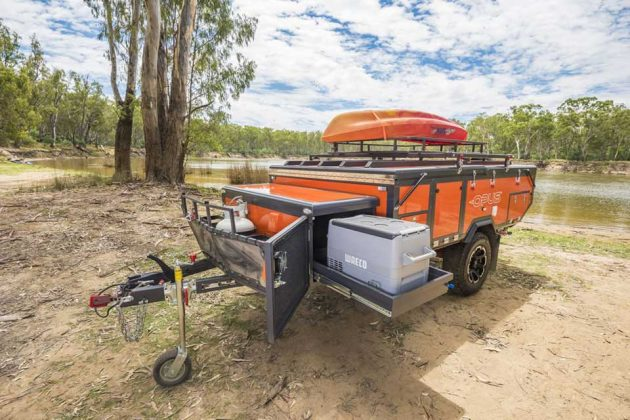 Air Opus Inflatable Camper Trailer by Opus