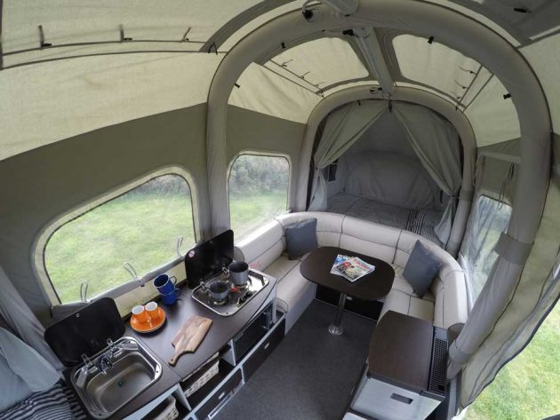 Tent Style Camping Trailer Is A Dream Come True For Small
