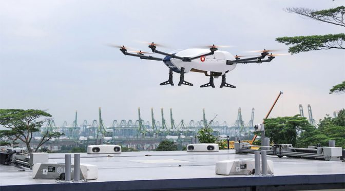 Airbus x NUS Skyways Commercial Parcel Delivery Drone