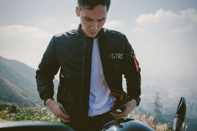 Astric Jacket and Motorcycle Cover Combo