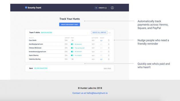 Bounty Hunt Web App Helps Get Your Money Back