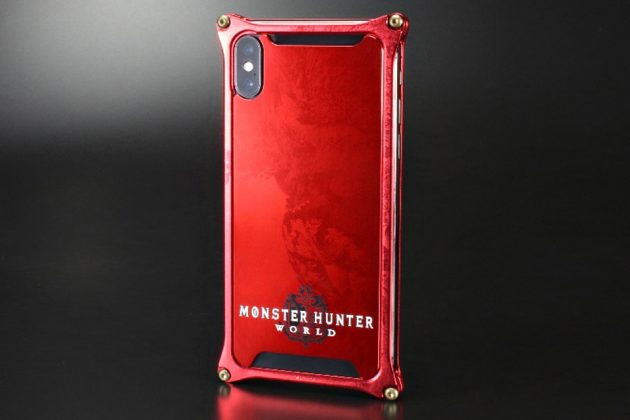 Capcom x GILD Design Monster Hunter World Nergigante Red iPhone Case